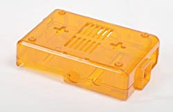 Pi Case Box, Enclosure for Raspberry Pi Computer (Orange)