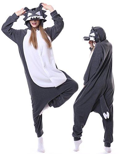 Wolf Pajamas Adult Onesies Cosplay Animal Costumes Unisex