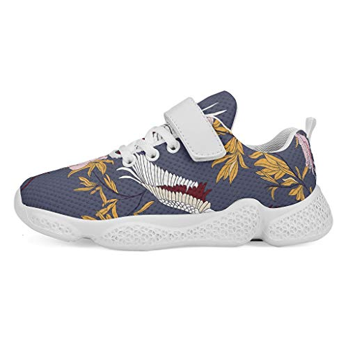 YxueSond Flowers and Birds Lightweight Running Sport Shoes Breathable Sneakers Jogging Cycling Jogging Shoes/Footwear…