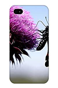 Awesome Design Animal Butterfly Hard Case Cover For Iphone 4/4s(gift For Lovers) BY RANDLE FRICK by heywan