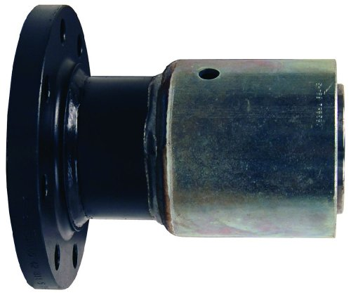 Dixon 64P3SO15 CS Fixed Ex-Swage Welded Flange Assembly, 4-53/64'' to 4-60/64'' OD, 4'' ID, Carbon Steel by Dixon Valve & Coupling