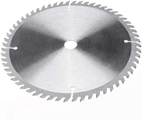 WXQ-XQ 2個180ミリメートル円形の切断工具木材ソーブレード60と40本の歯ディスク木工ツールサーキュラーソーブレードを切断