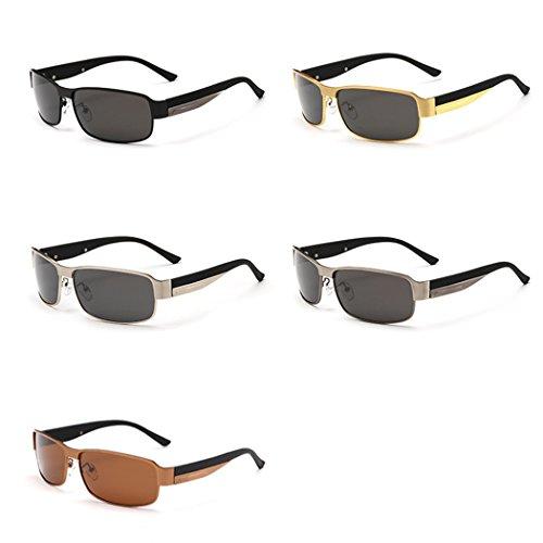 HD Soleil 10 Oculos Soleil Lunettes avec UV400 1 Polarisée mâle 5 mode unisexe lunettes cm de Protection de métal boîte mioim 10 Lunettes conduite en qxW864naav