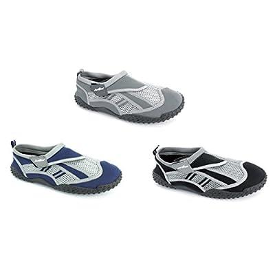 Just Speed Men's Aqua Shoes Aqua Socks- Breathable Material, Maximum Slip Resistances and Feet Protection
