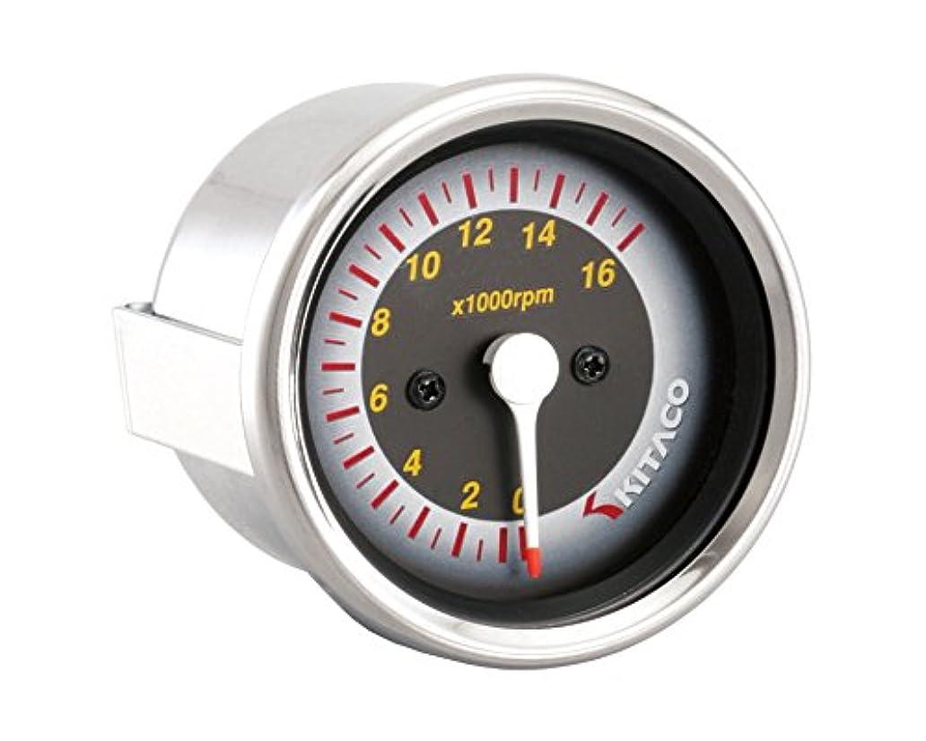 モーテル俳句計器KOSO バイク用小型防水LEDボルトメーター(電圧計) レッド 12V専用 電圧低下の警告機能付 レッドLED