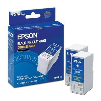 New Epson America Black Ink Cartridge Inkjet 1200 Page Quick-Drying Acid-Free Ink