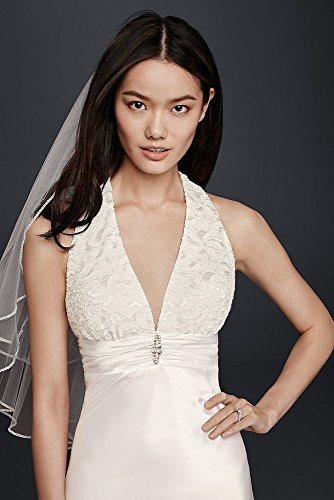 Charmeuse-Sheath-Wedding-Dress-with-Lace-Halter-Style-644796