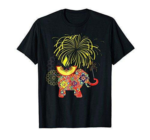 Traditional Elements Happy Diwali Tshirt by Happy Diwali Tshirts