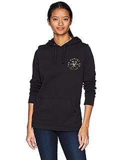 Hurley Womens Graphic Fleece Pullover Hoodie