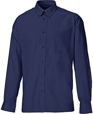Dickies SH64200-NB-19 Oxford - Camisa de manga larga (talla 19), color azul marino: Amazon.es: Industria, empresas y ciencia