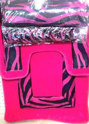 Pink Zebra Badezimmer Set W Dusche Badezimmer Vorhang Ringe