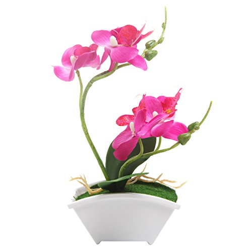 Decorative Artificial Synthetic Flowers Planter