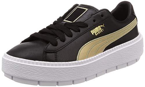 365111 Nero Heart 01 Suede Puma Rope Damen Velvet Sneaker qBKHX