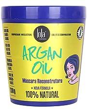 Mascara Argan Oil, Lola Cosmetics, Azul/Amarelo