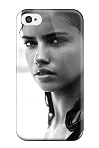 For Iphone 4/4s Tpu Phone Case Cover(adriana Lima)