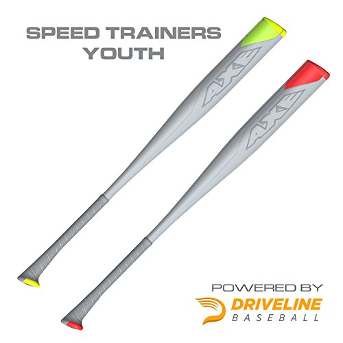 Axe Bat Youth Speed Trainers Hitting System (2 Bat Set) with Driveline Training Program-30 inch