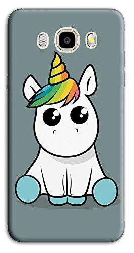cover samsung j1 2016 unicorno