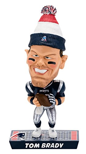 Tom Brady New England Patriots Caricature Bobblehead