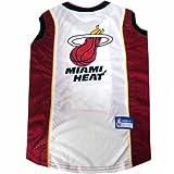 NBA Pet Mesh Tank Top, Small, Miami Heat