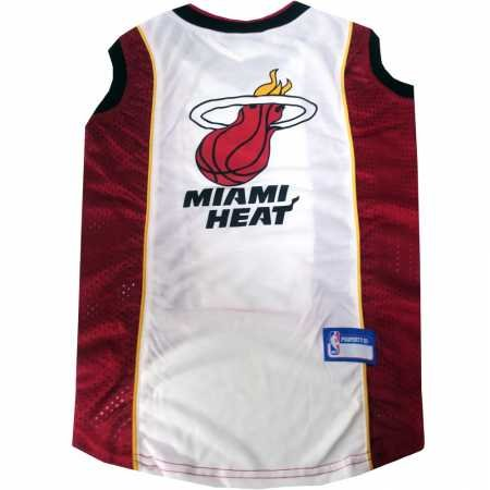 NBA Pet Mesh Tank Top, Small, Miami Heat by Pets First