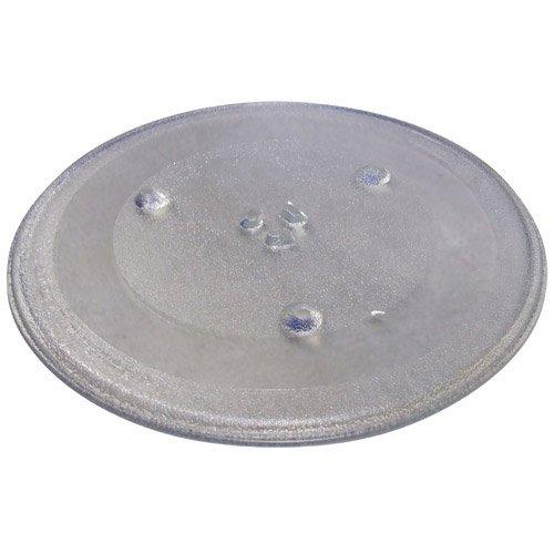 121 AV apta para microondas de cristal Tocadiscos placa para ...