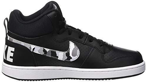 Multicolore gs 001 black Nike Homme Platinum color multi Borough Court Basses white Mid Sneakers pure qTTRZw0A