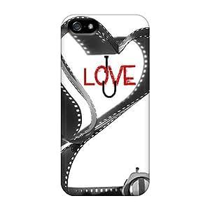 MeSusges Perfect Tpu Case For Iphone 5/5s/ Anti-scratch Protector Case (i Love U)