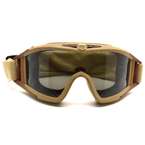 110dddb36d Brown Revision Eyewear Desert Locust U.S Military Goggles Windproof Glasses  Kits