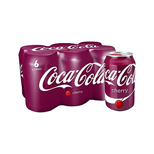 Coca-Cola Cherry 6 x 330ml (Pack of 2) (Cherry Cola Coca)