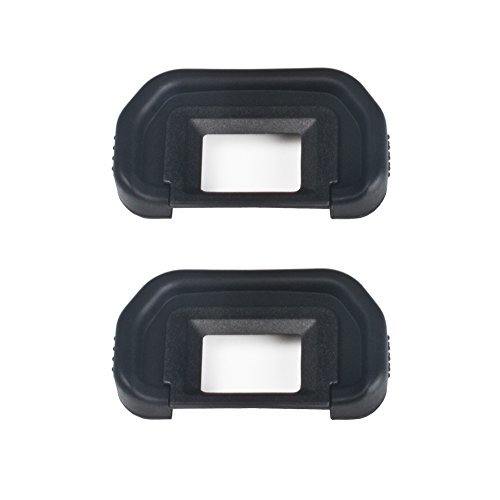 (2 Pack) VKO Eyepiece/Eyecup (Canon EB Replacement) for Canon EOS 5D Mark II/5D2/5DM2/5D/6D/80D/70D/60D/60Da/50D/40D Camera Viewfinder (50d 40d Camera 5d)