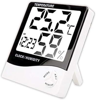 CHenXy 電子デジタル湿度計室内温度計、高精度なベビールームのためのサーモ湿度計インジケータ、家庭、オフィス 湿度計温度計 (Color : A)