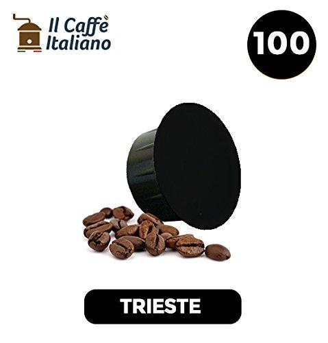 100 Cápsulas de Café compatibles Caffitaly sabor Café Trieste, 100 Cápsulas compatible con maquinas Caffitaly