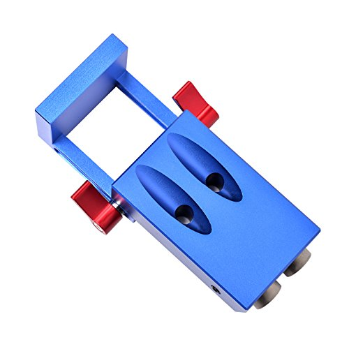 SHUOGOU Mini Pocket Slant Hole Jig Kit + 9.5mm Step Drilling Bit Dowelling Jig Wood Work Tool Set by SHUOGOU (Image #5)