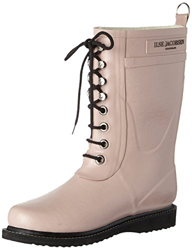 ILSE JACOBSEN Womens Rub 15 Rubber Boots Adobe Rose