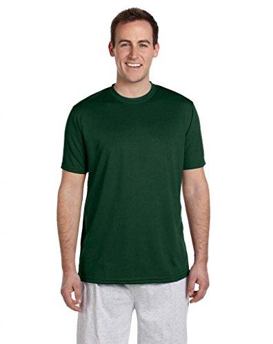 Men Oscuro Harriton Cómoda De Verde shirt Sport Athletic T Rdqwd1