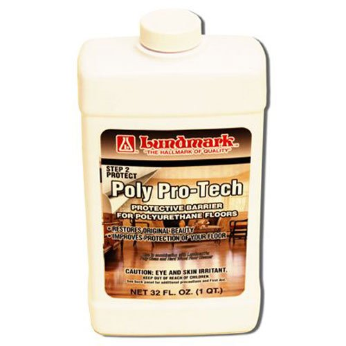 Lundmark Poly-Pro Tech, Protective Barrier for Polyurethane Floors, 32-Ounce, 3228F32-6