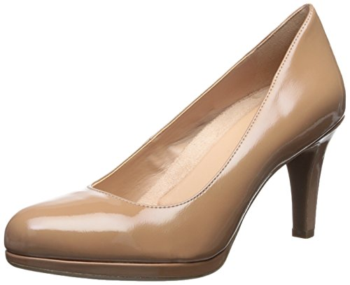 Naturalizer Women's Michelle Pump,Nude Shiny Harris Polyurethane,US 8.5 M
