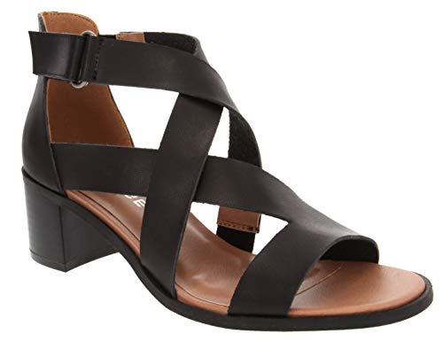 Rampage Women's Hammond Criss Cross Strappy Heeled for sale  Delivered anywhere in USA