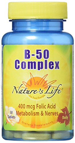 Nature's Life B-Complex Tablets, 2 Count