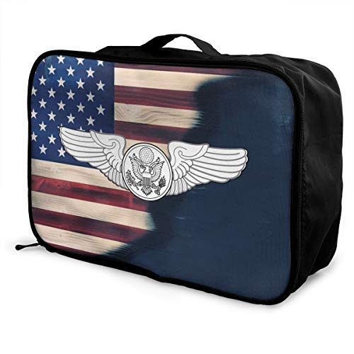 Crew Force Air Bag - Air Force Enlisted Aircrew Member Travel Lightweight Waterproof Foldable Storage Carry Luggage Duffle Tote Bag