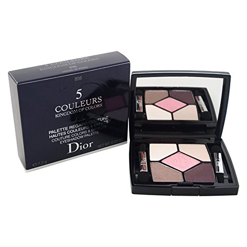 - Christian Dior 5 Couleurs Kingdom of Colors Eyeshadow Palette for Women, 856 House Of Pink, 0.25 Ounce