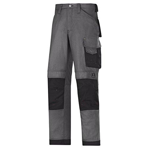 Snickers 84.190.342.317,5cm lona'+ artesanos pantalones, acero, color gris y negro, 62
