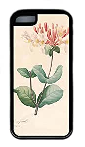 iPhone 5C Case, iPhone 5C Cases - nature flower colorful 17 Polycarbonate Hard Case Back Cover for iPhone 5C¨C Black
