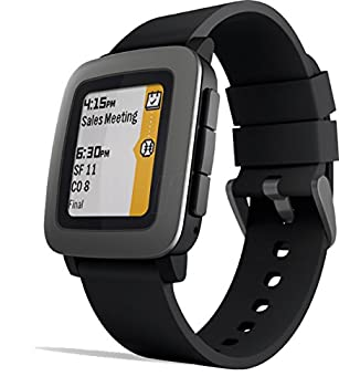 Pebble Time Smartwatch - Black 1