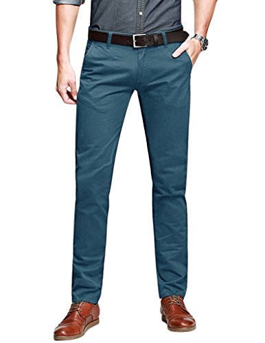 Match Men's Slim Tapered Stretchy Casual Pant
