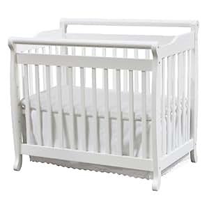 DaVinci M4798W Emily Mini Crib (White)