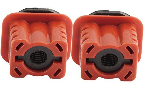 TOPAZ 1695040114 Radiator Mount Upper for Mercedes (Pack of 2)