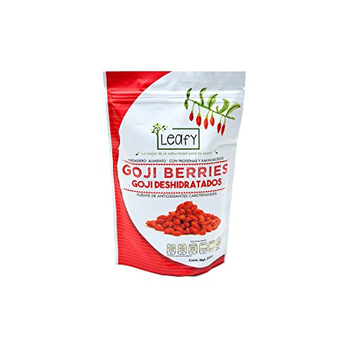 Leafy Goji Berry Deshidratados, 250 g
