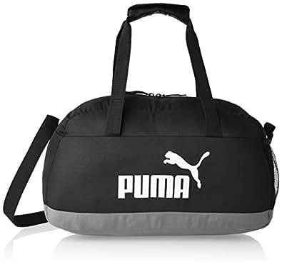 PUMA Unisex Phase Sport Bag, Black, 46 x 24 x 20cm (25L)