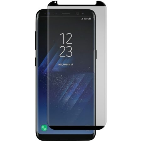 Gadget Guard Black Ice Cornice Curved Edition Tempered Glass Screen Guard For Samsung Galaxy S8 - Clear by Gadget Guard